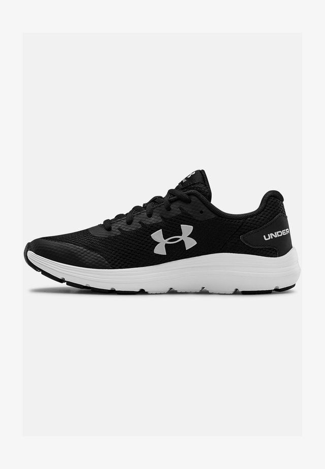 UA GS SURGE 2 - Neutral running shoes - black