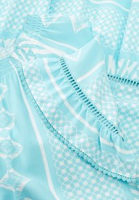 Triangle - Day dress - turquoise aop - 3