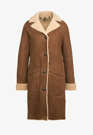 CAR COAT - Zimní kabát - chestnut