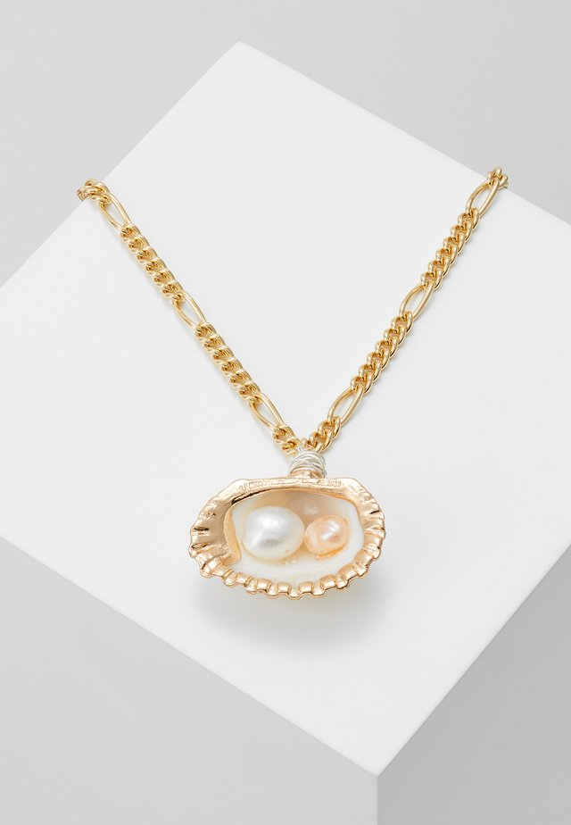 DROP IT LIKE ITS HOT NECKLACE - Collier - gold-coloured