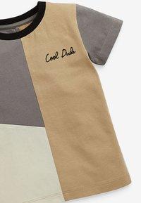 Next - 2 PACK - Print T-shirt - black - 4