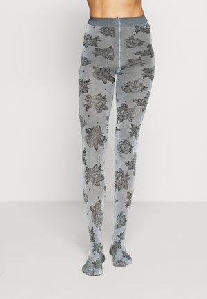 WILD ROSE - Tights - black