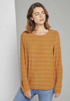 Blouse - orange yellow