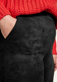 Samoon - Trousers - black - 2