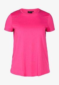Zizzi - Basic T-shirt - pink - 3