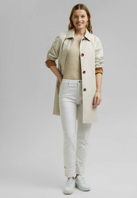 Esprit - Straight leg jeans - white - 1