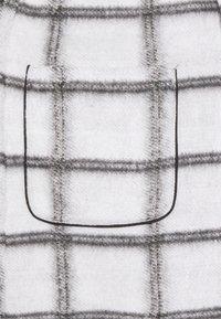 Vila - VIAMELINA COATIGAN - Classic coat - white alyssum/black - 2