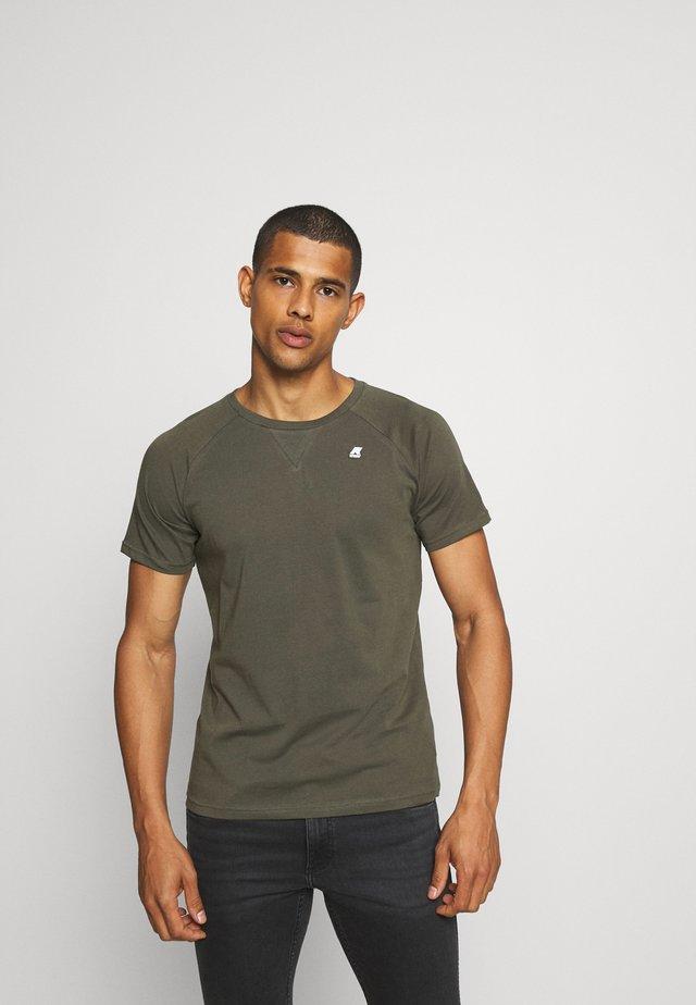 EDWING UNISEX - Basic T-shirt - black torba