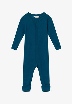 FOOT BASIC UNISEX - Pyjamas - petrol blue