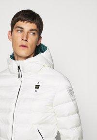 Blauer - GIUBBINI CORTI IMBOTTITO - Down jacket - white - 4