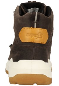 Superfit - Lace-up ankle boots - braun/gelb - 3