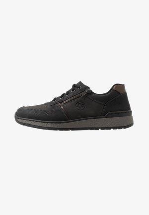 Sneakers - schwarz/kastanie