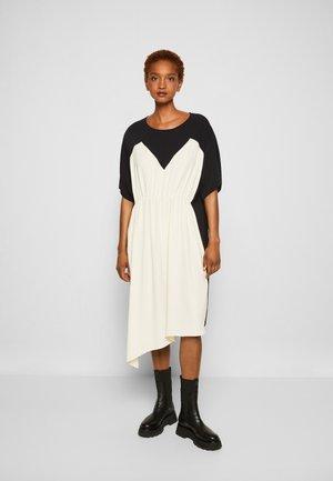 DRESS - Cocktail dress / Party dress - black/off white