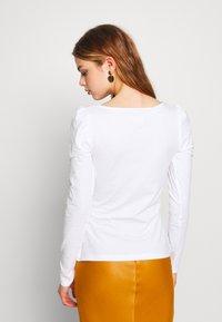 Even&Odd - Topper langermet - white - 2