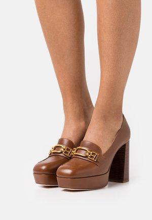 DEASIA - Platform heels - cognac