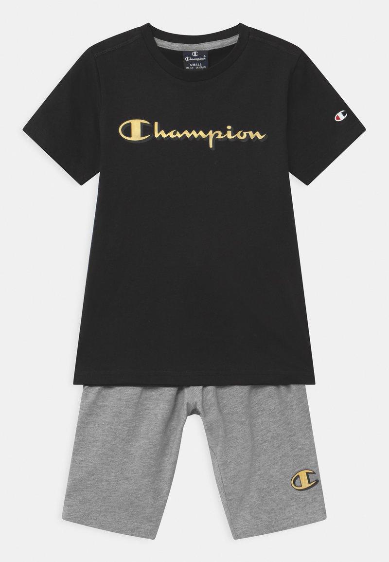 Champion - LEGACY GRAPHIC SHOP SET UNISEX - Short de sport - black