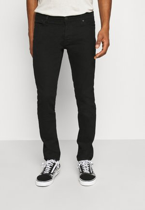 JJIGLENN JJORIGINAL - Jeansy Slim Fit - black