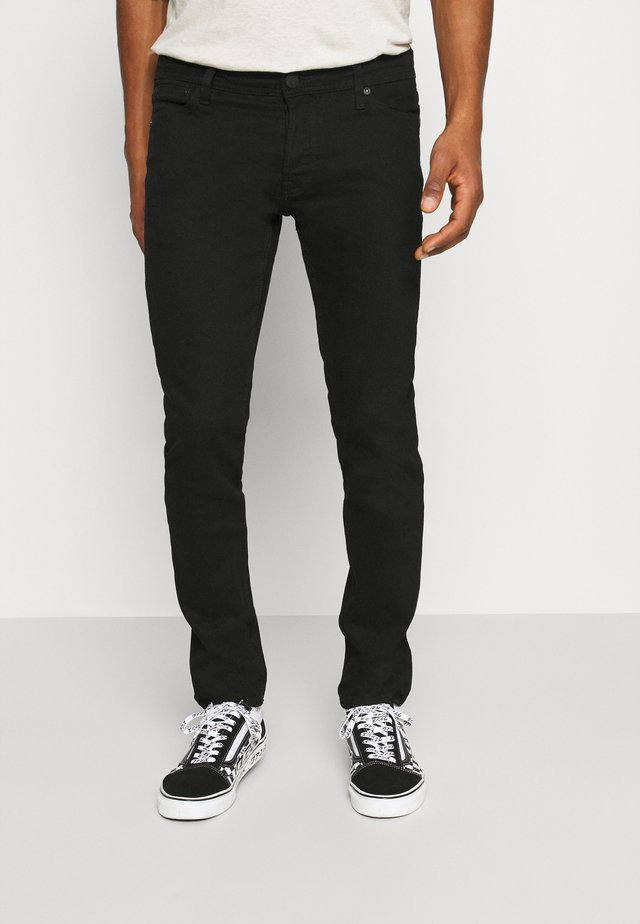 JJIGLENN JJORIGINAL - Slim fit -farkut - black