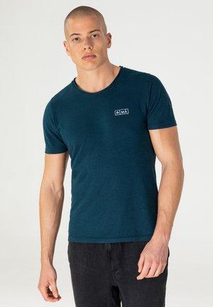 AJI - T-shirt print - petrol blue