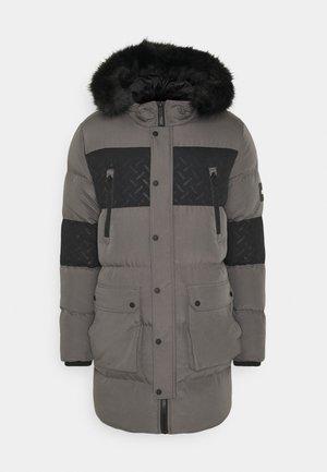 LUNAR LONGLINE JACKET - Zimní kabát - grey