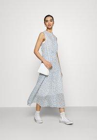 Nümph - BARACA DRESS - Maxi dress - wedgewood - 1