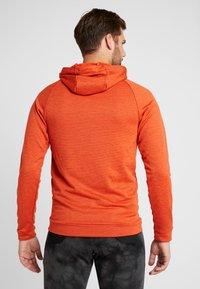 Nike Performance - DRY PO - Kapuzenpullover - team orange/night maroon/heather/white - 2