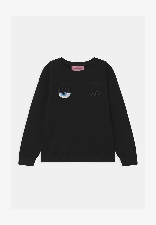 KIDS FLIRTING - Sudadera - black
