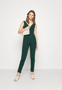 WAL G. - HEIDI LOW V NECK - Jumpsuit - forest green - 1