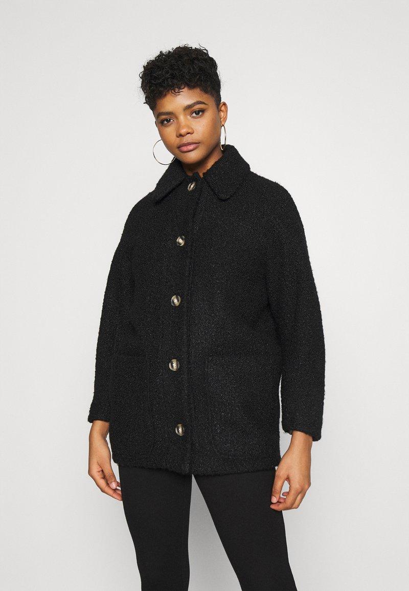 Topshop - OREGON - Classic coat - black