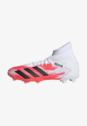 PREDATOR 20.3 FG - Moulded stud football boots - ftwwht/cblack/pop