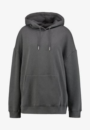 OVERSIZED HOODIE - Jersey con capucha - off black