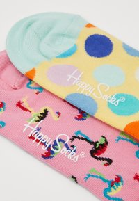 Happy Socks - 2 PACK FLAMINGO  BIG DOT  - Socks - multi - 2