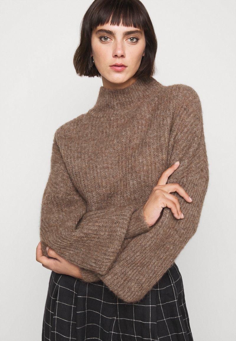 Won Hundred - BLAKELY - Sweter - brown melange