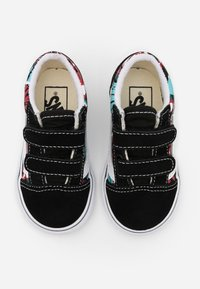 Vans - OLD SKOOL - Baskets basses - black/multicolor/true white - 3