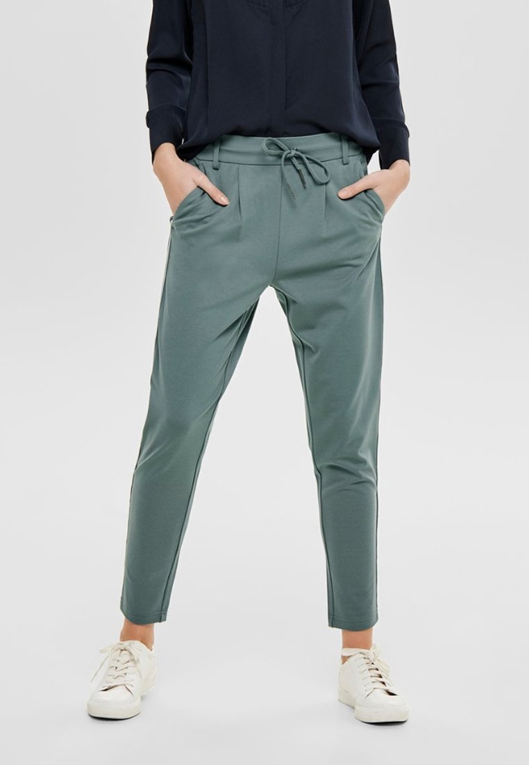 ONLY - Tracksuit bottoms - balsam green