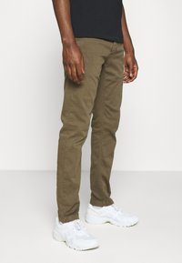 Replay - BENNI HYPERFLEX - Trousers - deep mud - 0