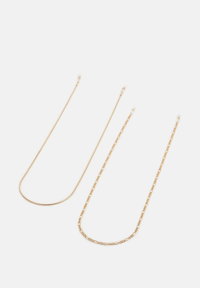 VMSISSE SUNGLASSES CHAIN 2 PACK - Ketting - gold-coloured