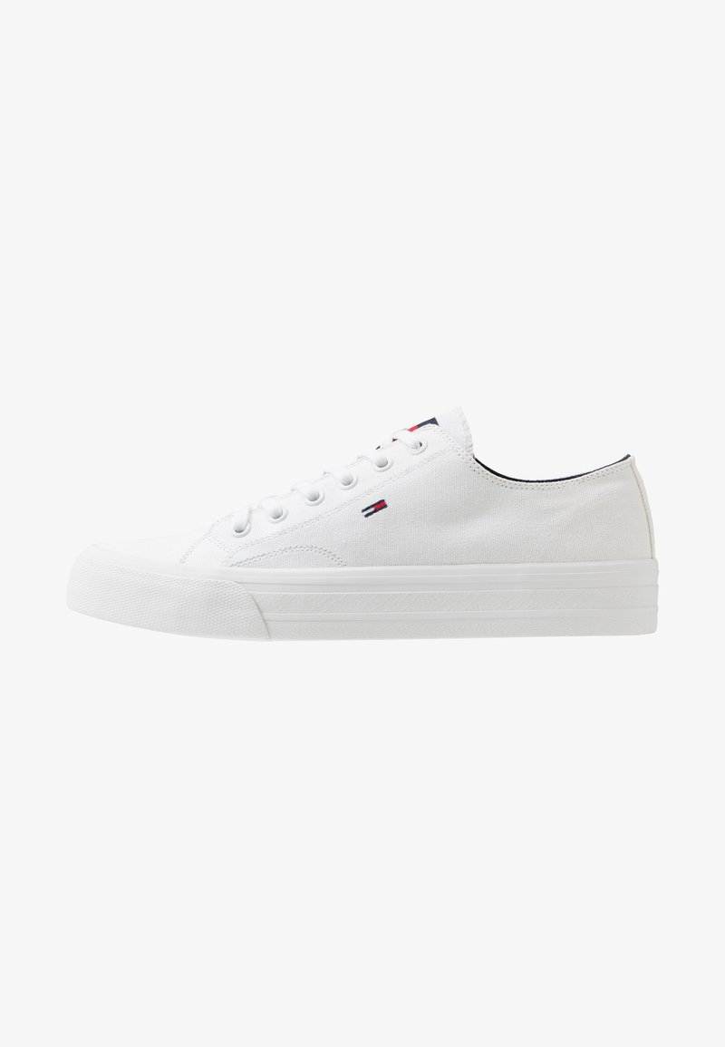 Tommy Jeans - LONG LACE UP - Baskets basses - white