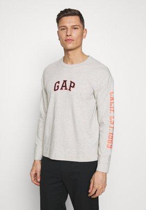 OVERSIZE CREW - Long sleeved top - light heather grey
