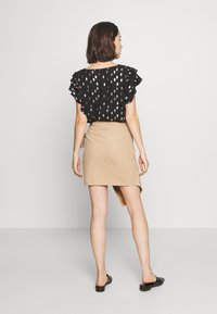 Ivyrevel - OVERLAP SKIRT - Pencil skirt - beige - 2