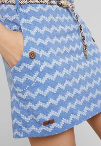 Ragwear - TANYA ZIG ZAG - Jersey dress - blue - 6