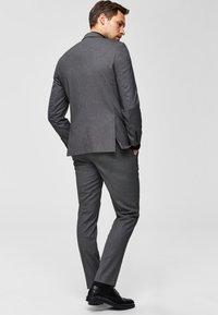 Selected Homme - Anzughose - dark grey melange - 2
