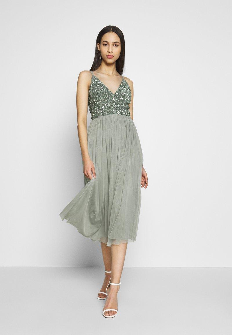 Lace & Beads Tall - IRINA MIDI TALL - Koktejlové šaty/ šaty na párty - mint