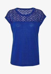 ONLY - ONLNEW NICOLE LIFE - T-shirts med print - mazarine blue - 4