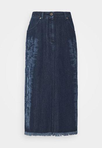 SKIRT - A-line skirt - fantasy blue