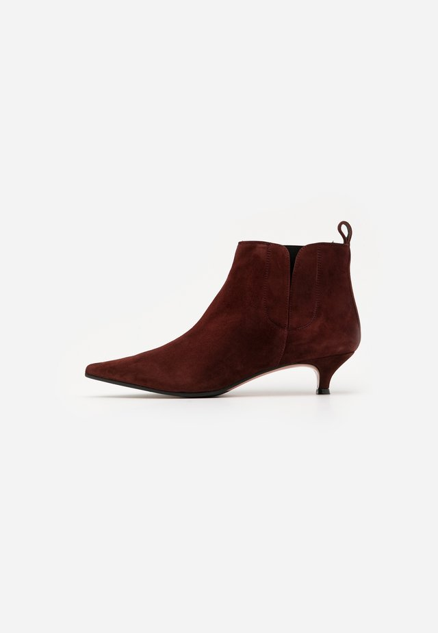 SAMMY - Ankle Boot - chatagne