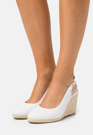WIDE FIT DRIFTING  - High heels - white