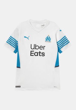 OLYMPIQUE DE MARSEILLE HOME REPLICA JR UNISEX - Club wear - weiss/blau