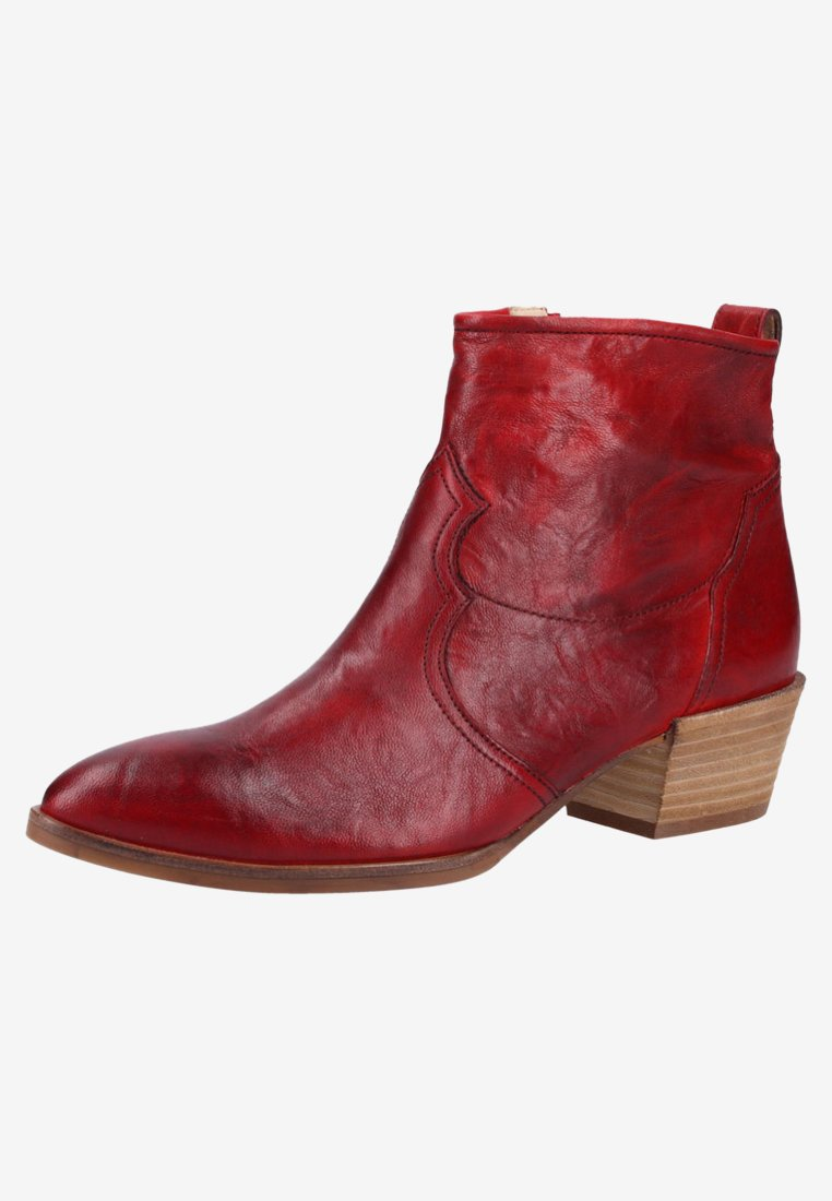 Paul Green Ankelstøvler - Red