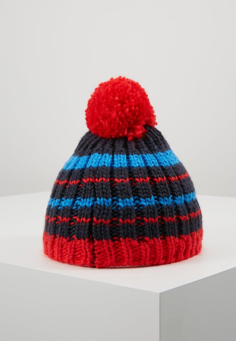 TrollKids - KIDS HAFJELL BOBBLE - Čepice - navy/med blue/red